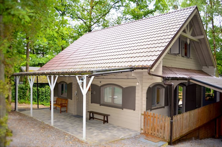 Family chalet near Durbuy (4 adults, 6 kids) - Durbuy - Bungalo