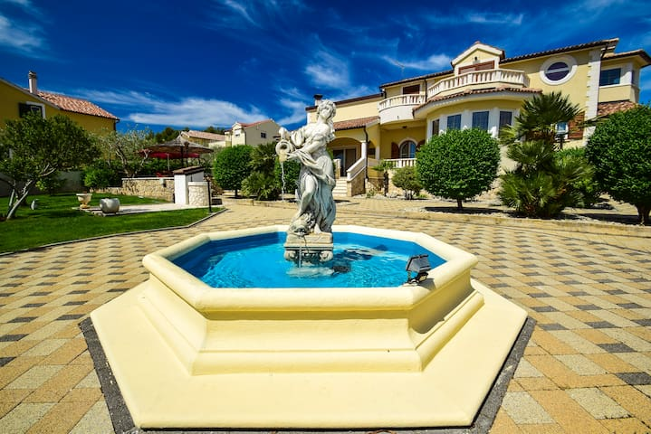 Luxury Villa Eden with the pool in Vodice