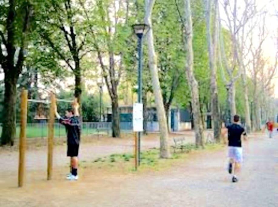 Parco Ruffini a 5 minuti a piedijjmjmmmmmmmj da casa per magnifiche passeggiate
