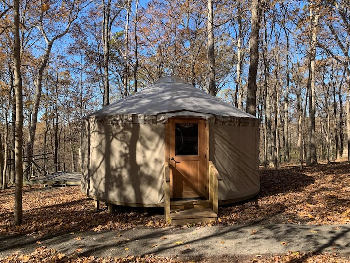 Camp Cedar Point Yurt #1