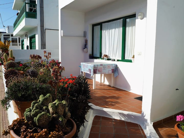 Apartamentos Lina: with terrace and garden