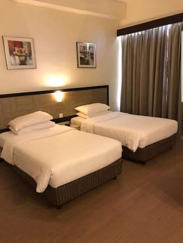 First World Hotel Standard Room/Two Single bed