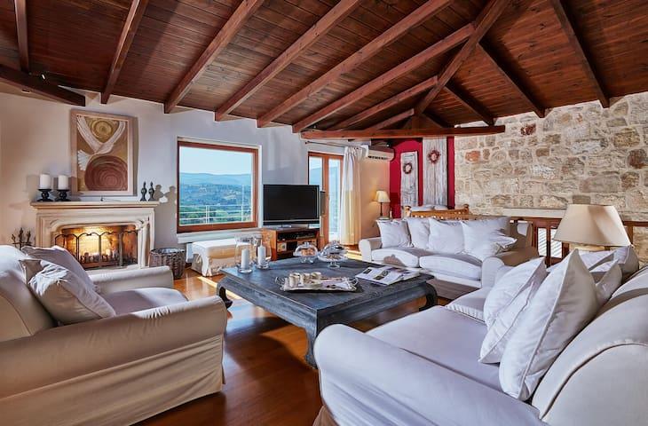 Villa Malvazia - Keramoutsi - Willa