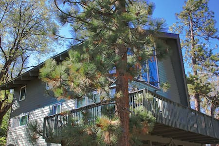 Quiet Forest Retreat, Walk to Big Bear Lake