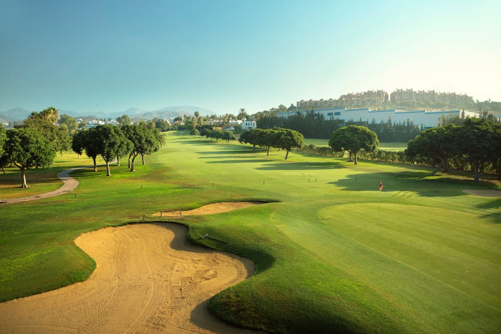 Golf Valley of Nueva Andalucia, only 5 minutes by car from the property.