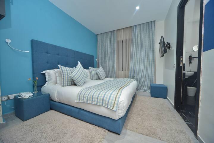Chambre privé á hôtel le135 Casablanca