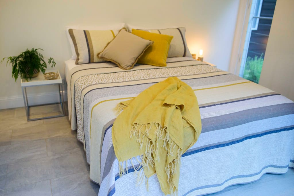 Natural bedlinen in cotton, bamboo and linen