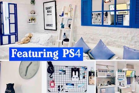 Nordic Santorini 33.5 SQM+ Netflix+ PS4+ free pool