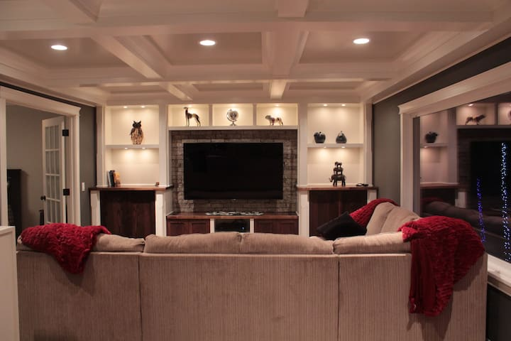 Upper Level living area is furnished very comfortably