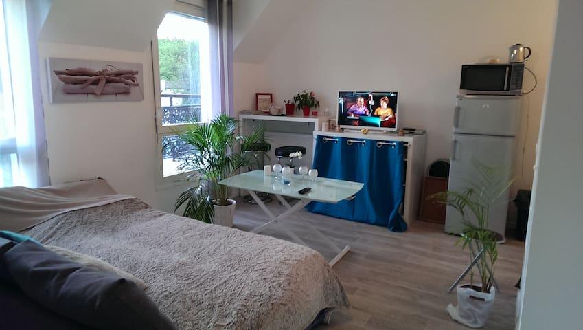 studio bleu turquoise - Orly - Pis