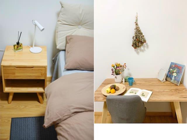 卧室之【绿海】