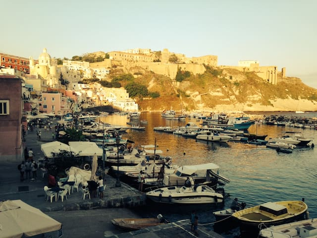 Beautiful, cosy sea and Capri view