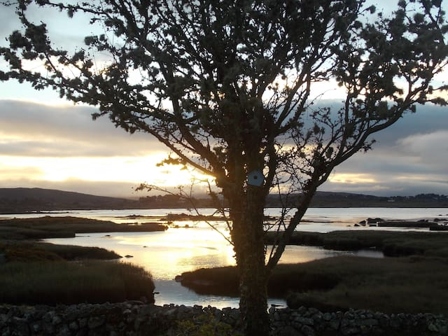 OUTSTANDING COTTAGE IN CONNEMARA , BY THE SEA