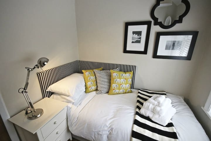 Our smaller single room is compact but comfortable - for an adult or teen is not a problem.