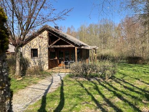 Cottage 4 personnes dans domaine privé