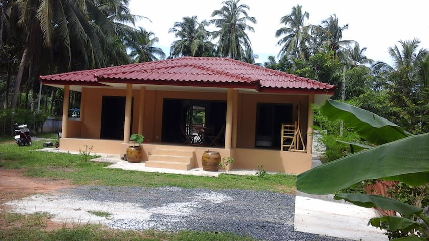 Casual House in a quite place - Khanom - Casa