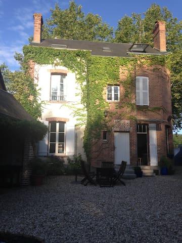 Chambre chez l'habitant en Sologne (pour 2 perso.) - Lamotte-Beuvron - Rumah