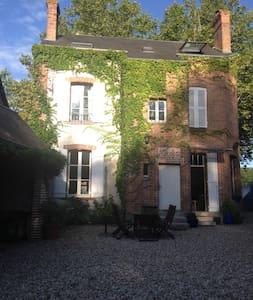 Chambre chez l'habitant en Sologne (pour 2 perso.) - Lamotte-Beuvron - Casa