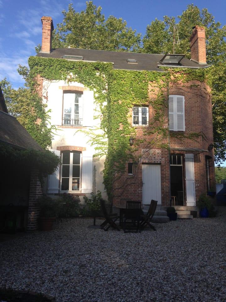 Chambre chez l'habitant en Sologne (pour 2 perso.)