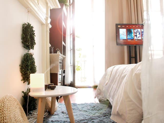 French Concession Old Lane House Beautiful terrace - 上海 - Appartement