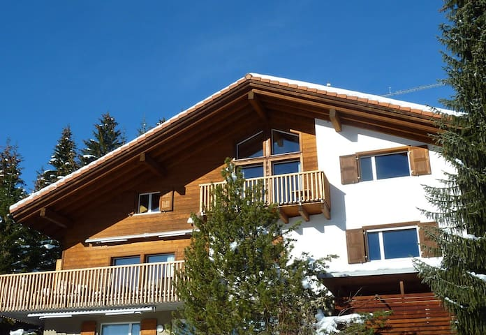 chalet sin resgia, swiss alps near flims,  10 beds