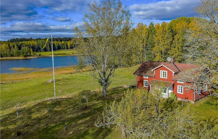 Amazing home in Långserud with 4 Bedrooms