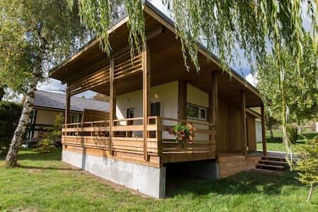 chalet bois grand confort 34m² - Ancelle