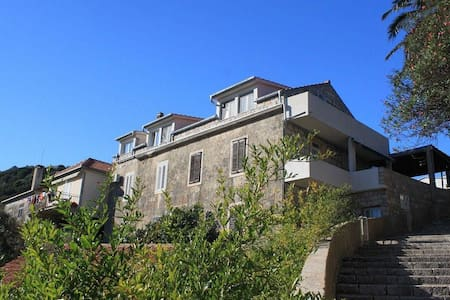 One bedroom apartment with air-conditioning Lastovo (A-8343-a) - Lastovo