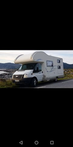 2 in 1. Camping car for 7 person.