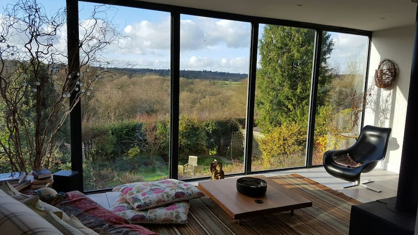 Great country views in modern home - Haywards Heath - House