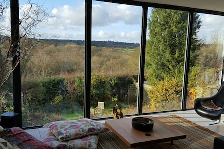 Great country views in modern home - Haywards Heath - Rumah