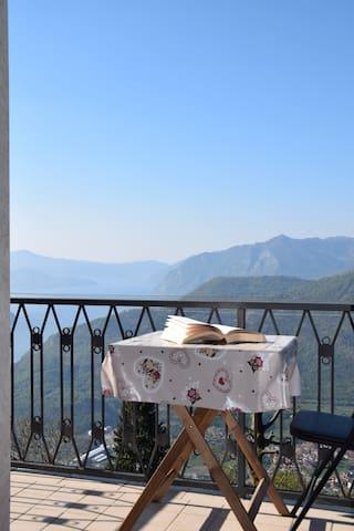 veduta panoramica dal terrazzo