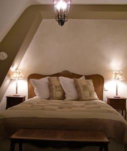 Chambre Coton à l'Ange est rêveur - Langeais - Bed & Breakfast