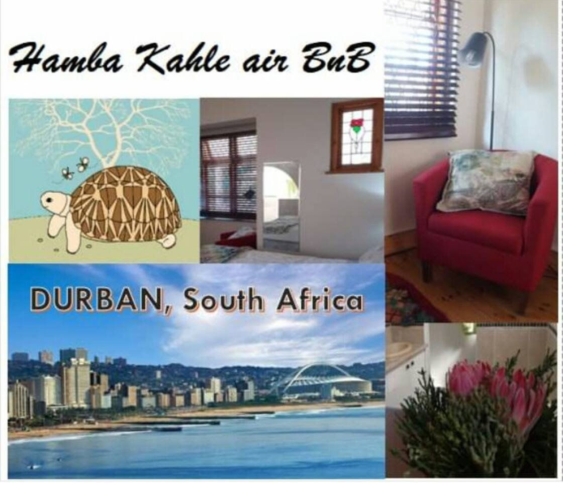 Hamba Kahle = safe and peaceful travels
