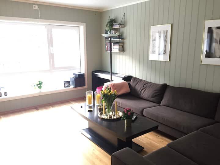 Sentrumsnær leilighet i Arendal