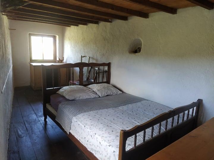 Accueil rural, chambre longue