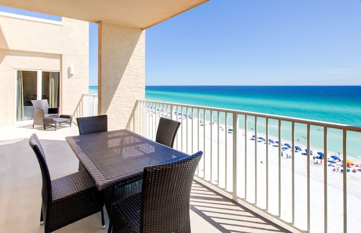 FAB Beachfront Penthouse☀Beach House 701A☀ HUGE Balcony- Beach Front Pool