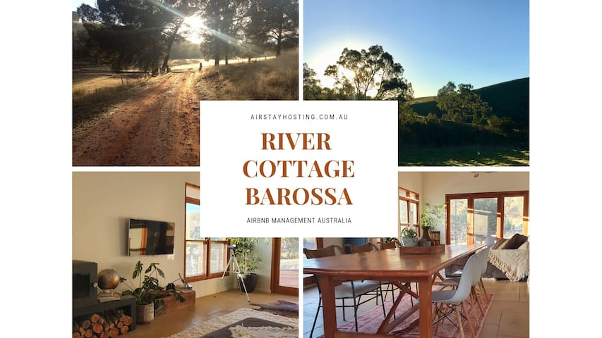 River Cottage★Private Oasis★Fresh Air★Wine★Pets