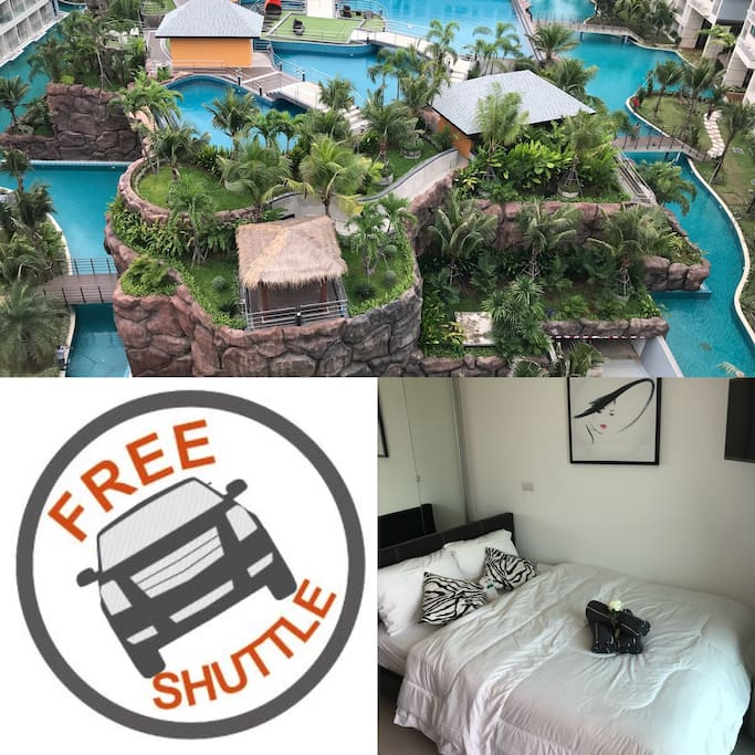 Free shuttle for check in only from Jomtien Beach