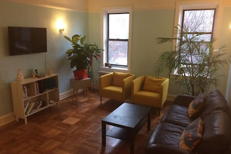 colorful and huge 1BD near Prospect Park - Brooklyn