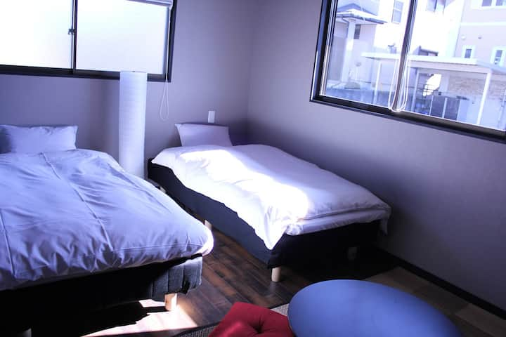 Private Room (2 beds,1 futon 12㎡)
