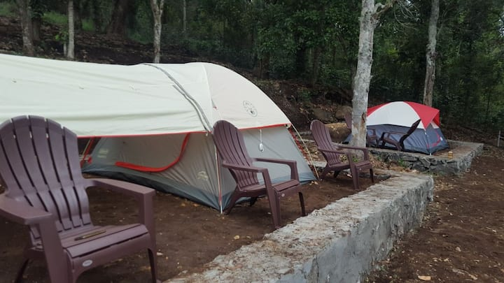 Rent a Tent at Plumeria Eco Trails Camp Ground