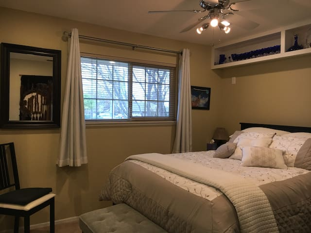 Comfortable room in a warm, cozy house - Rocklin - Casa