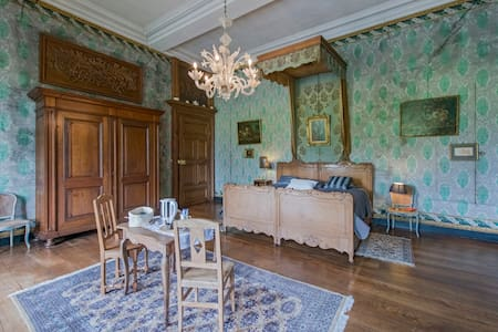 Chateau de Waleffe, Green Room  - Faimes - Schloss