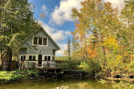 Rose of Sharon Cottage on Serene Ecological Farm