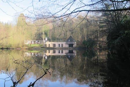 Maison d'architecte dans la forêt - Jurbise - Haus