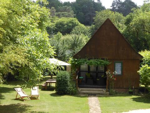 Le Chalet 4p, 3* piscine chauffée Spa Parc & wifi