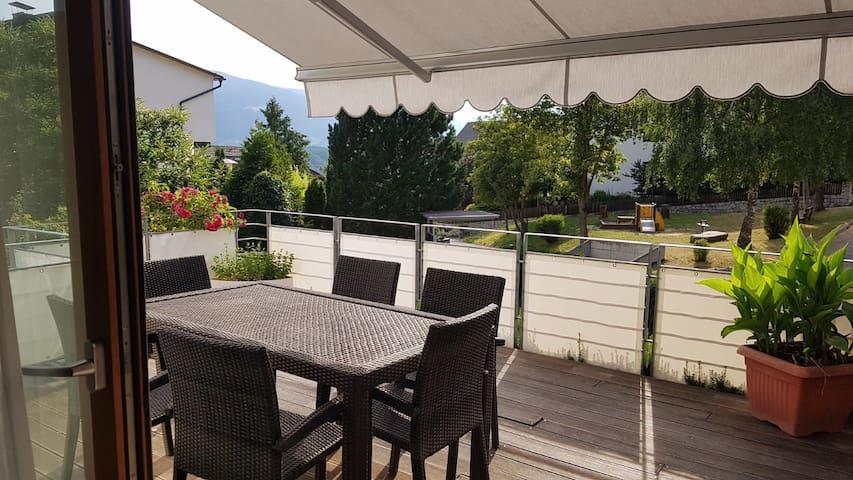 Wohnung 3 Schlafzimmer und Terrasse in Pfalzen