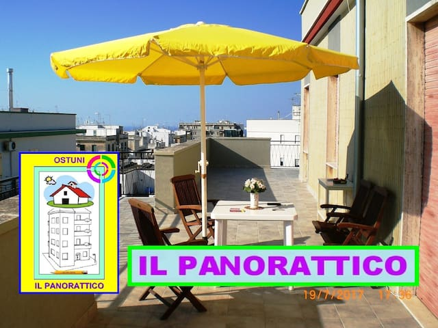ATTICO PANORAMICO  –  OSTUNI ALFA-RELAX