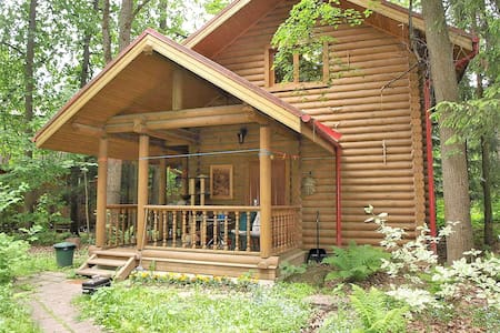 Forest studio minutes away from Moscow in Vnukovo